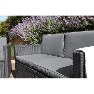 Allibert Gartensofa MONACO graphit