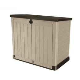 Keter Mülltonnenbox STORE IT OUT ACE beige/braun, 1200L
